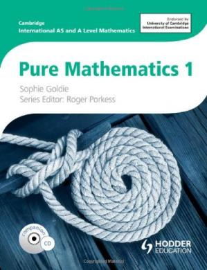 Book cover Pure Mathematics 1: Cambridge International As & a Level