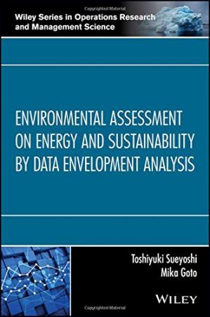 Copertina Environmental Assessment on Energy and Sustainability by Data Envelopment Analysis