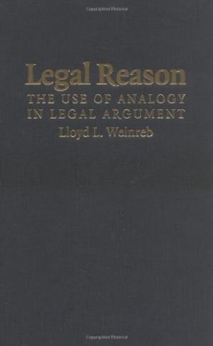 Buchdeckel Legal Reason: The Use of Analogy in Legal Argument