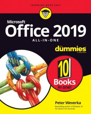 La couverture du livre Office 2019 All-in-One For Dummies