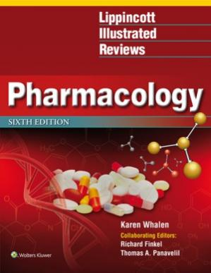 Book cover Lippincott Illustrated Reviews Pharmacology