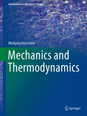 Book cover Mechanics and Thermodynamics