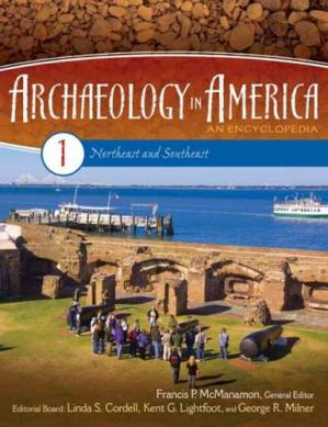 Εξώφυλλο βιβλίου Archaeology in America  4 volumes : An Encyclopedia