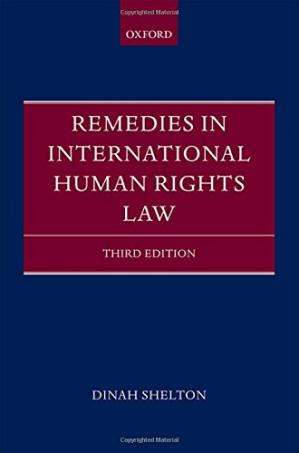 Book cover Remedies in international human rights law. 3rd rev. ed