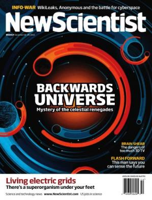 د کتاب پوښ New Scientist magazine - 18 December 2010- Issue number 2791
