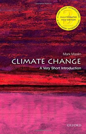 Book cover Climate Change: A Very Short Introduction