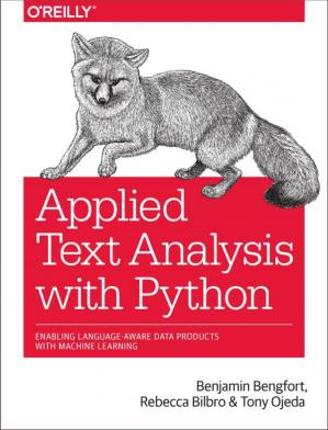 书籍封面 Applied Text Analysis with Python: Enabling Language-Aware Data Products with Machine Learning