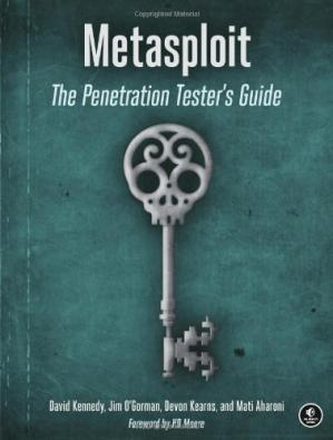 Book cover Metasploit: The Penetration Tester's Guide