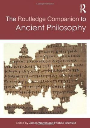 Copertina The Routledge Companion to Ancient Philosophy
