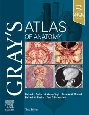 Portada del libro Gray's Atlas of Anatomy