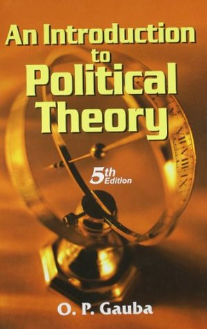 Book cover Introduction to Political Theory (5/e)