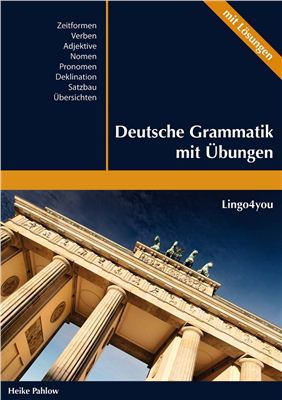 Обкладинка книги Deutsche Grammatik mit Übungen