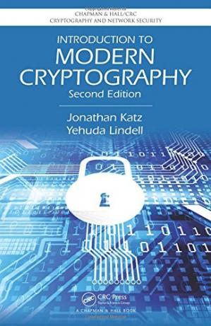 Book cover Introduction to Modern Cryptography, Second Edition