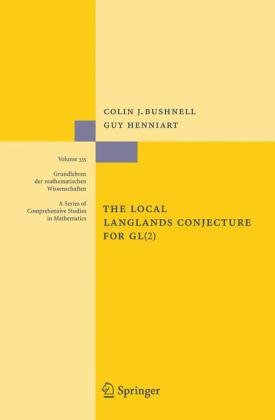 Book cover The Local Langlands Conjecture for GL(2)