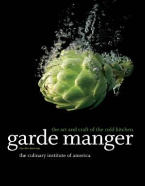A capa do livro Garde Manger. The Art and Craft of the Cold Kitchen