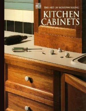 Book cover The Art of Woodworking Kitchen cabinets