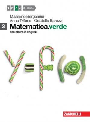 Book cover Matematica verde 3 - Con Maths in English