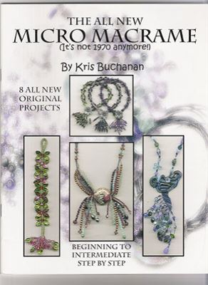 Обложка книги The All New Micro Macrame (Микро-макраме)