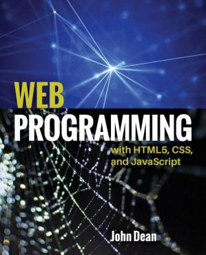 Book cover Web Programming with HTML5, CSS, and JavaScript