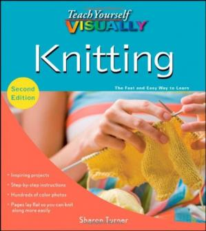 Couverture du livre Teach Yourself VISUALLY Knitting, Second Edition