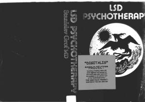 Book cover LSD Psychotherapy