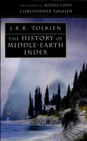 Buchdeckel The History of Middle-earth. Vol. 13: Index