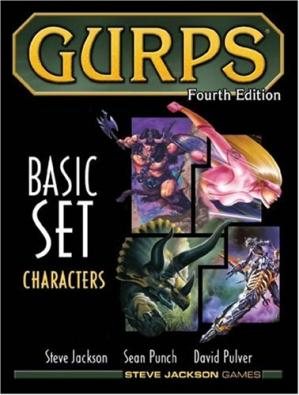 Book cover Characters (GURPS, 4th Edition)