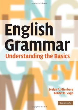 Book cover English Grammar: Understanding the Basics