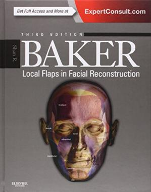 पुस्तक कवर Local Flaps in Facial Reconstruction, 3e
