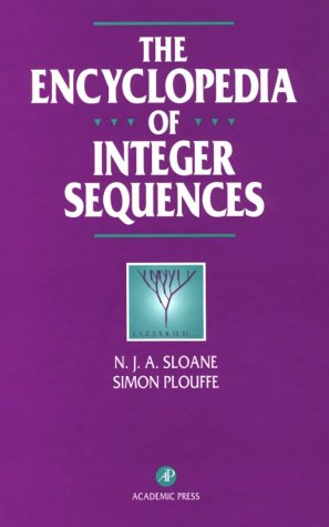 Обложка книги The encyclopedia of integer sequences