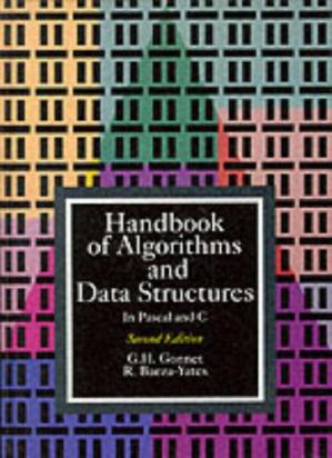 Buchdeckel Handbook of algorithms and data structures: in Pascal and C
