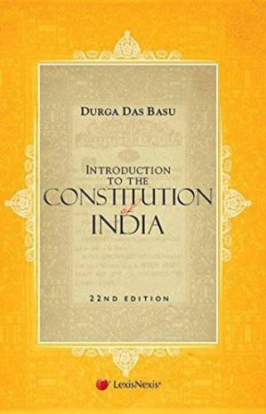 Book cover Introduction To The Constitution Of India