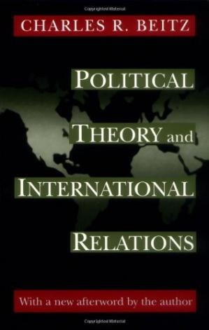 Copertina Political Theory and International Relations