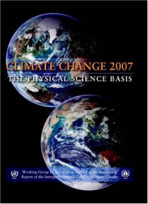 Okładka książki Climate Change 2007 - The Physical Science Basis: Working Group I Contribution to the Fourth Assessment Report of the IPCC