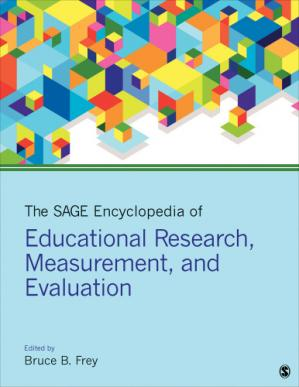 Book cover The SAGE Encyclopedia of Educational Research, Measurement, and Evaluation
