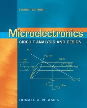 Book cover Microelectronics Circuit Analysis and Design