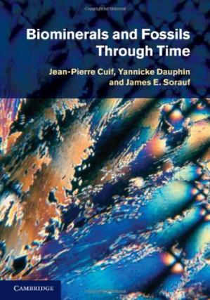 Portada del libro Biominerals and Fossils Through Time