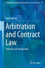 Book cover Arbitration and Contract Law: Common Law Perspectives