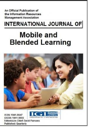 Book cover International Journal of Mobile and Blended Learning