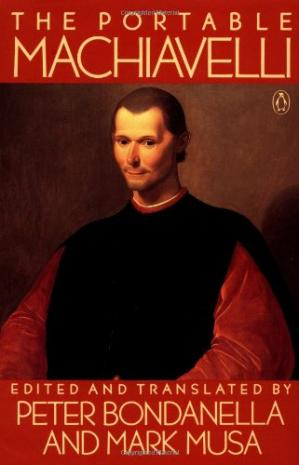 A capa do livro The Portable Machiavelli