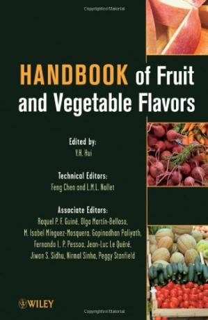 Copertina Handbook of Fruit and Vegetable Flavors