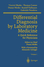 Couverture du livre Differential Diagnosis by Laboratory Medicine: A Quick Reference for Physicians