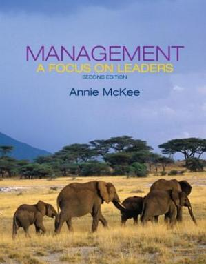 Book cover Management: A Focus on Leaders