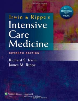 पुस्तक कवर Irwin and Rippe's Intensive Care Medicine, 7th Edition