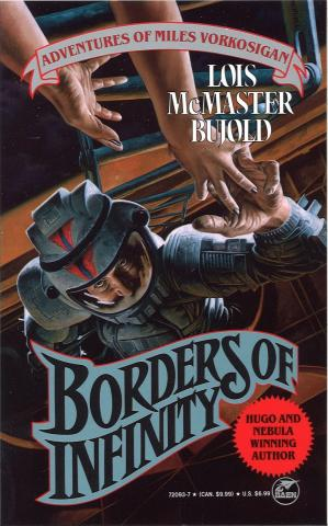 Copertina Miles Vorkosigan: Borders of Infinity