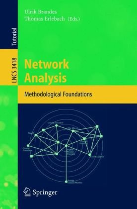 Book cover Network Analysis: Methodological Foundations