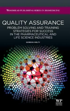 Portada del libro Quality assurance: Problem solving and training strategies for success in the pharmaceutical and life science industries