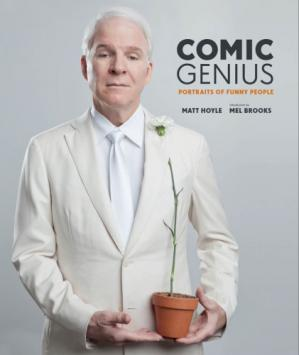 Book cover Comic genius: portraits of funny people