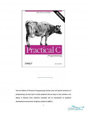 Book cover Oualline Practical C Programming 3rd ed 1997