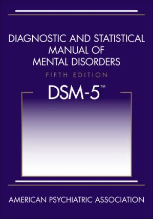 Book cover Diagnostic and Statistical Manual of Mental Disorders (DSM-5)